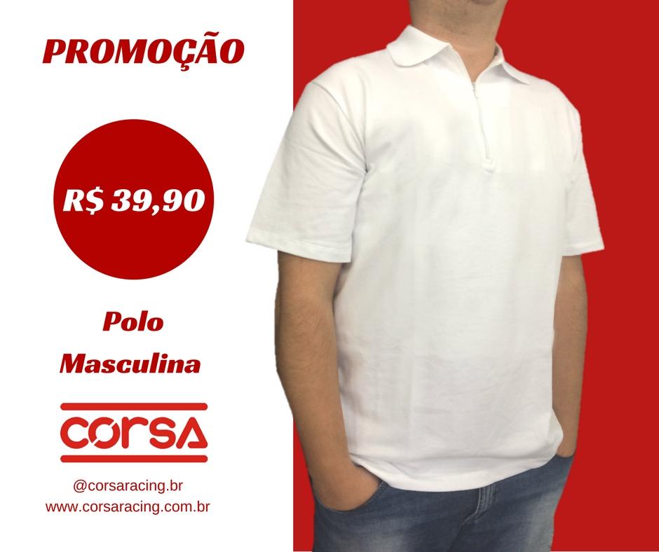 FASHION CORSA - POLO MASCULINA CORSA