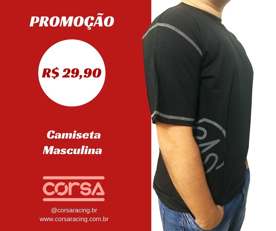 FASHION CORSA - CAMISETA MASCULINA