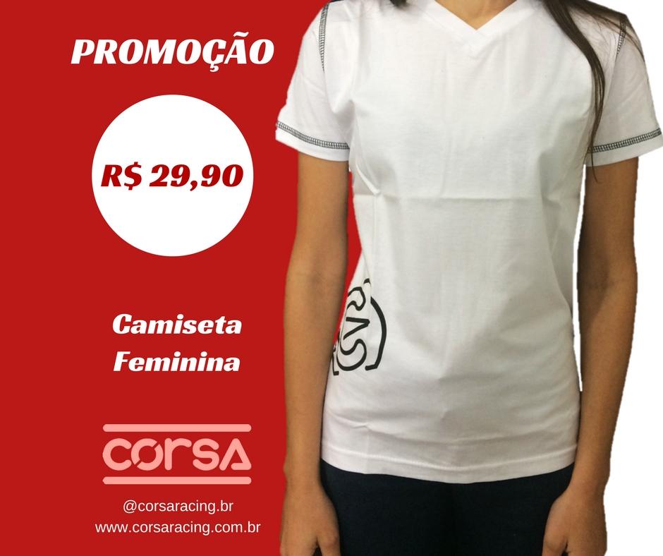 FASHION CORSA - CAMISETA FEMININA